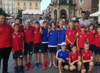 Юні рухівці вдало виступили у Кракові