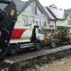 Ремонт вулиці Галицької у Винниках триває
