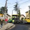 У Винниках асфальтують чергову ділянку вулиці Галицької