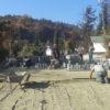 У Винниках забруковують вуличку до старого кладовища