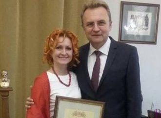 Заступник директора СЗШ № 29 Оксана Хутка – серед найкращих вчителів Львова
