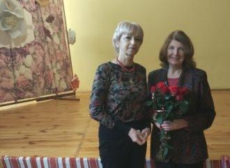 У День української писемності та мови в СЗШ № 29 організували зустріч із письменницею Надією Мориквас